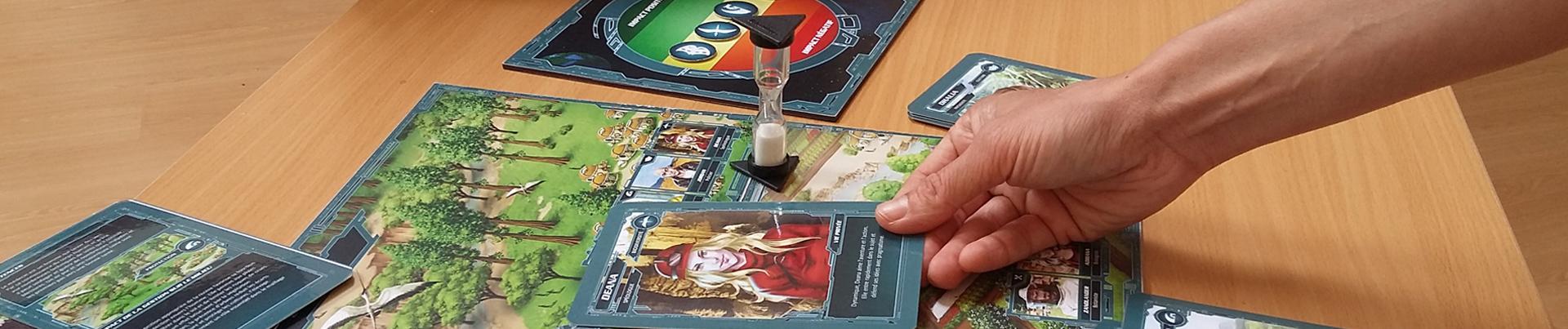 Nowatera - Le jeu - une planète entre tes mains